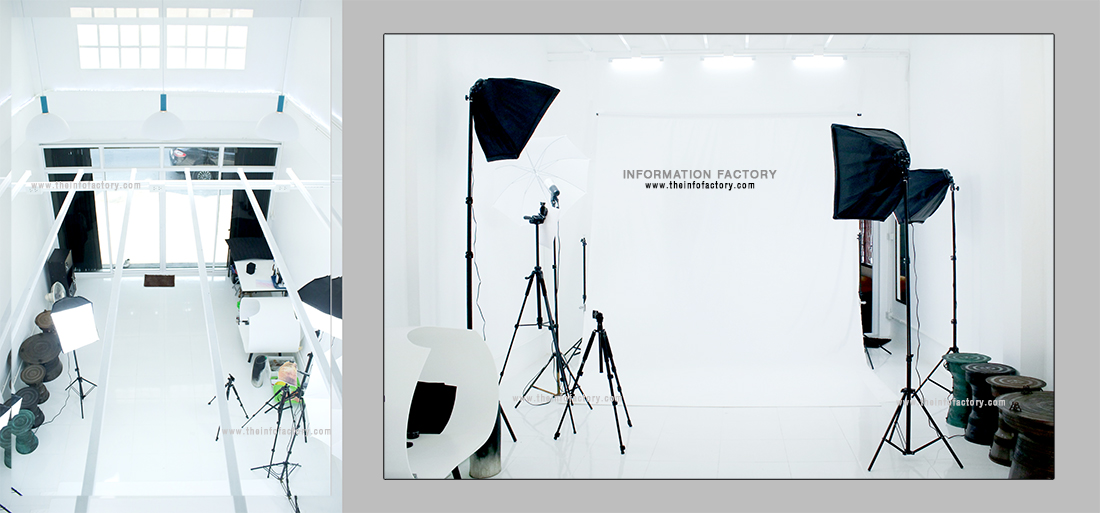 all-white 4x7 meters photo studio