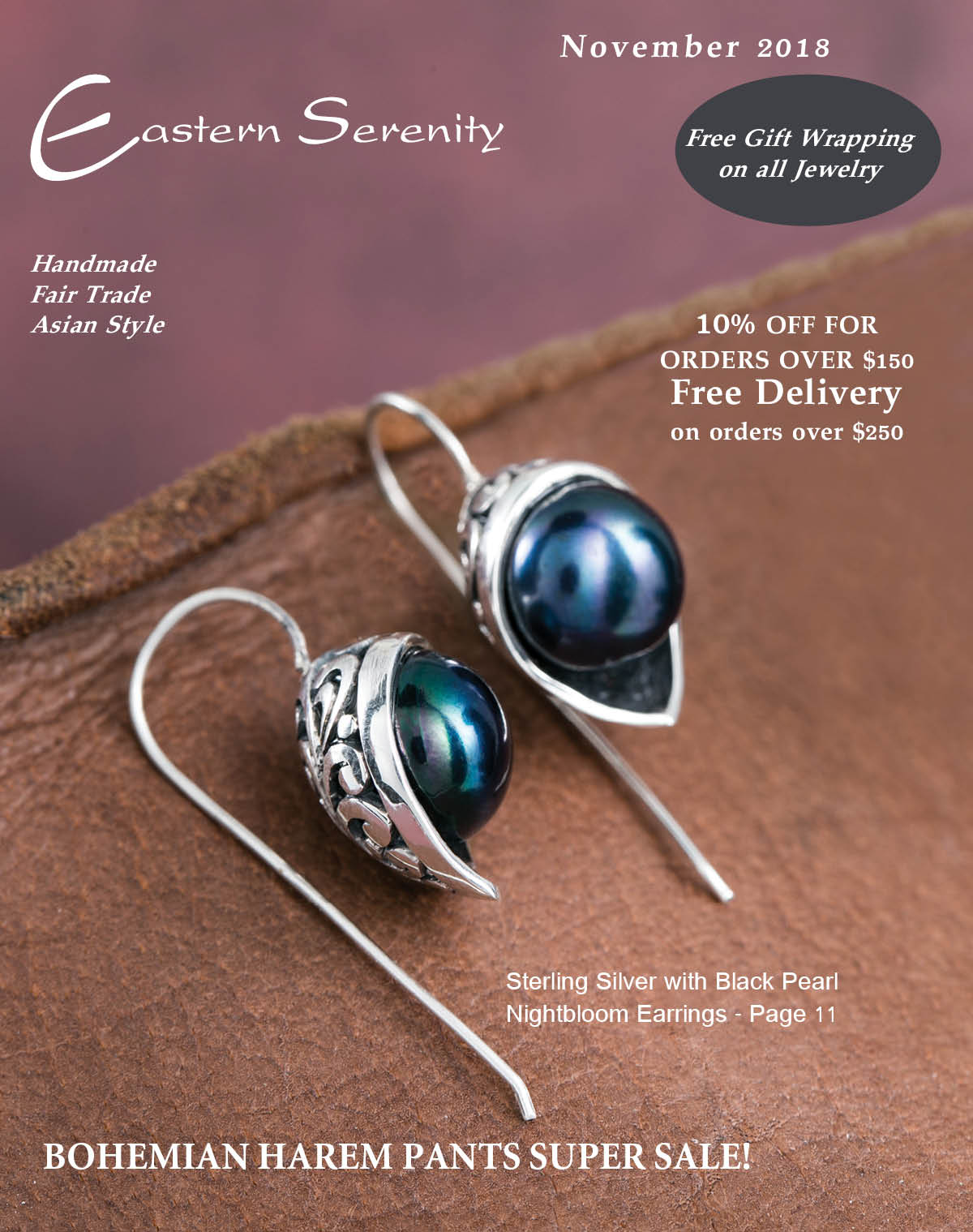 Easternserenity Catalog November